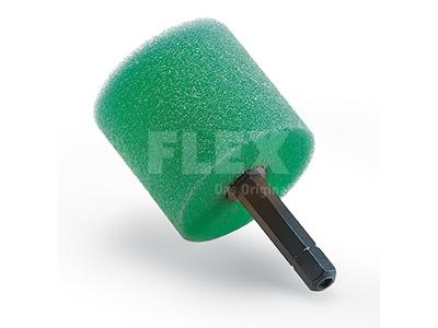 Polírozó szivacs hengeres zöld